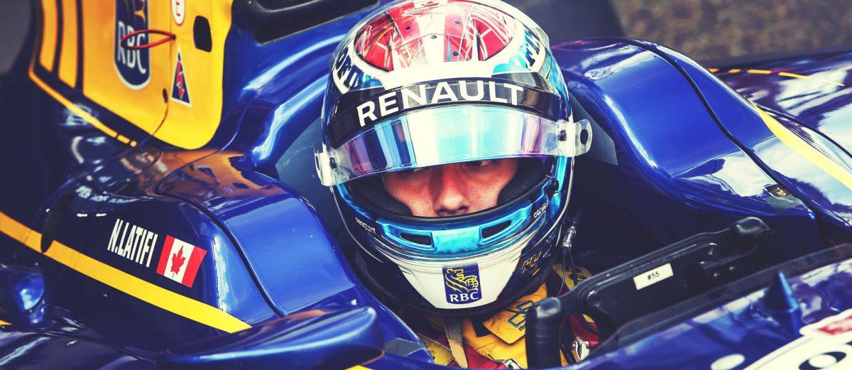 Nicholas Latifi looks for a positive performance at GP2 season finale