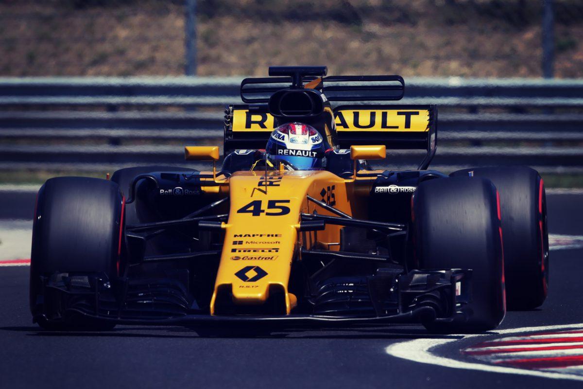 Nicholas's F1 test garners valuable feedback for Renault Sport