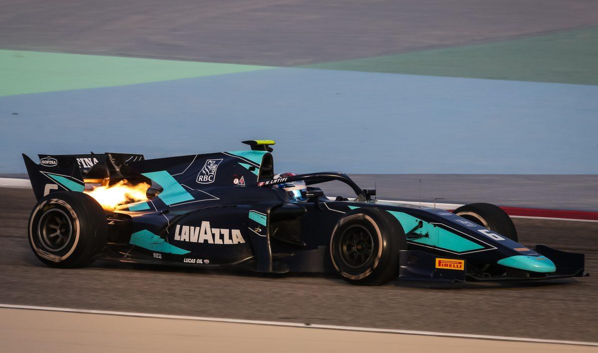 Nicholas returns to the F2 cockpit in Bahrain