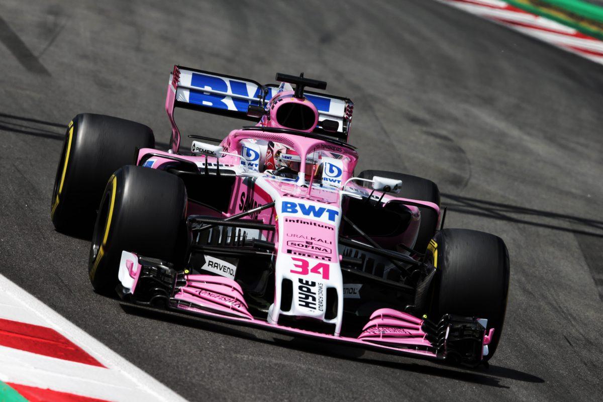 First Sahara Force India F1 test performance pleases Nicholas