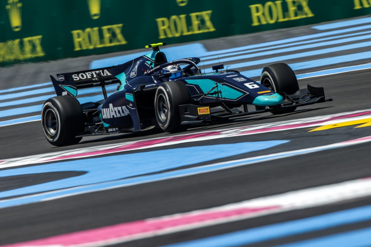 Nicholas Latifi stretches his F2 points run in French thriller