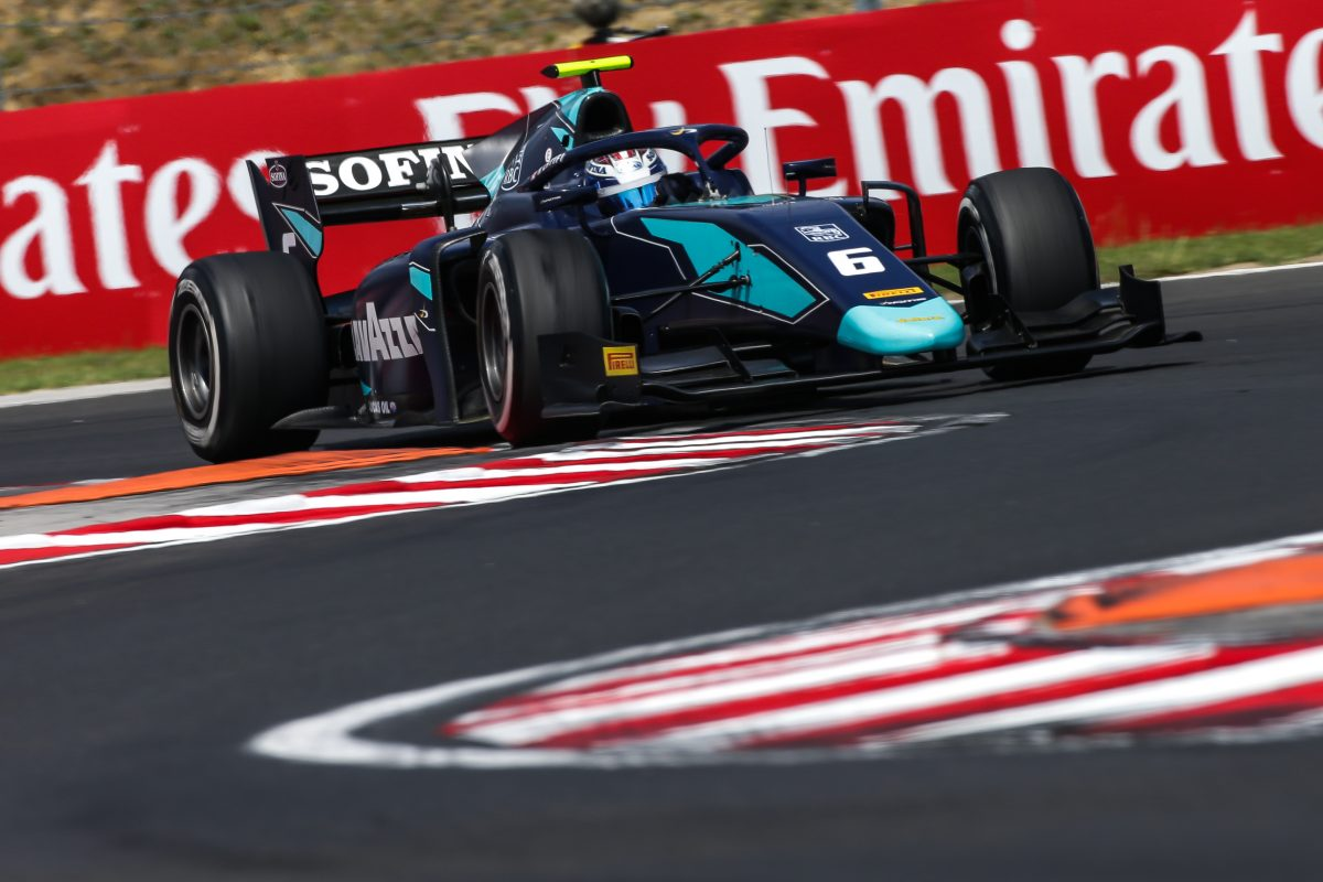 Nicholas Latifi out of luck in Hungary