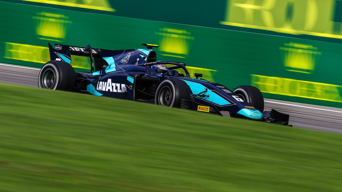 Double points for Nicholas Latifi at Monza