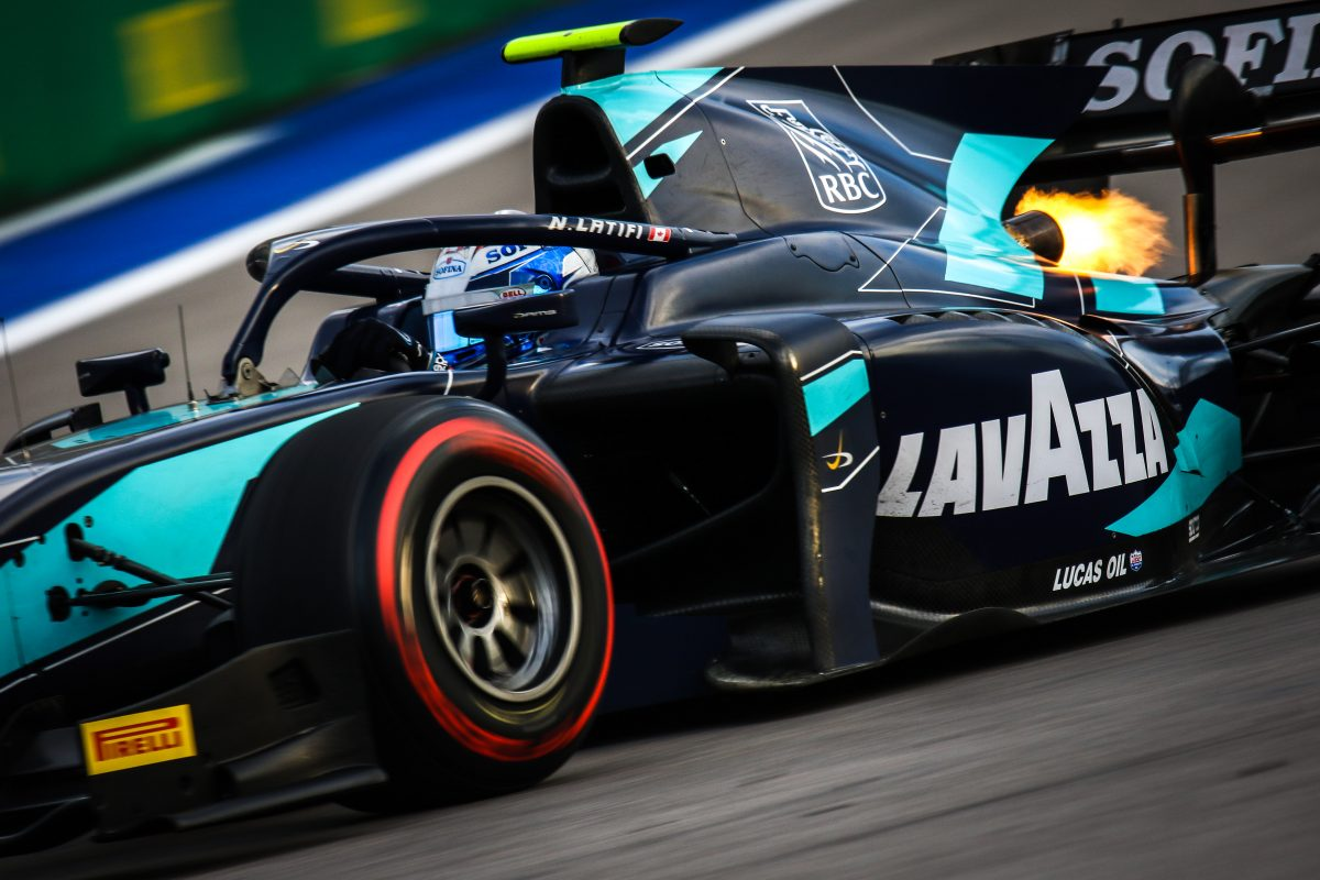 Motivation high for Nicholas Latifi at F2 season finale