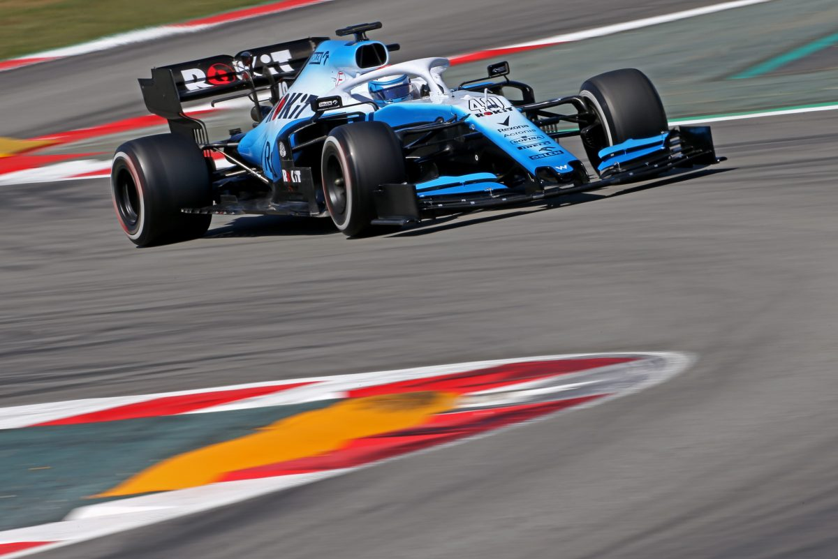 Nicholas adds more experience at F1 test