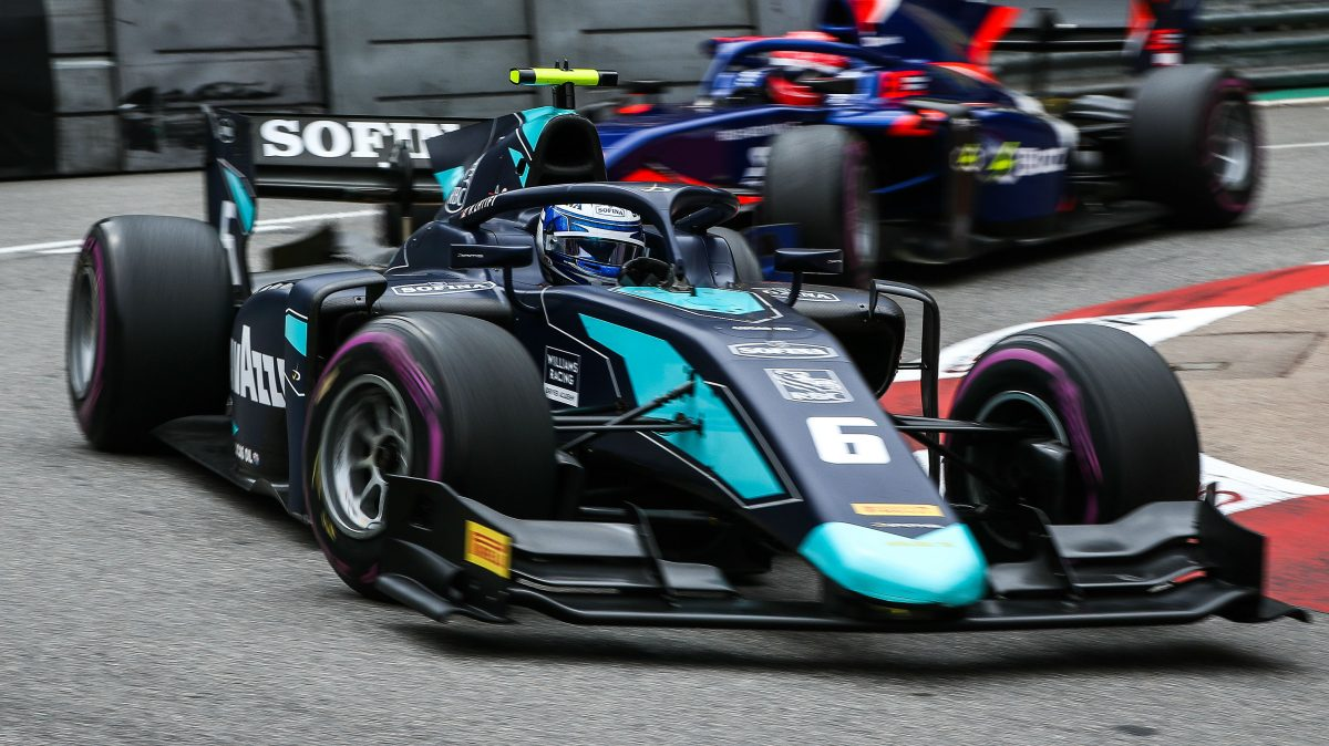 Nicholas ready for F1 and F2 outings at Paul Ricard
