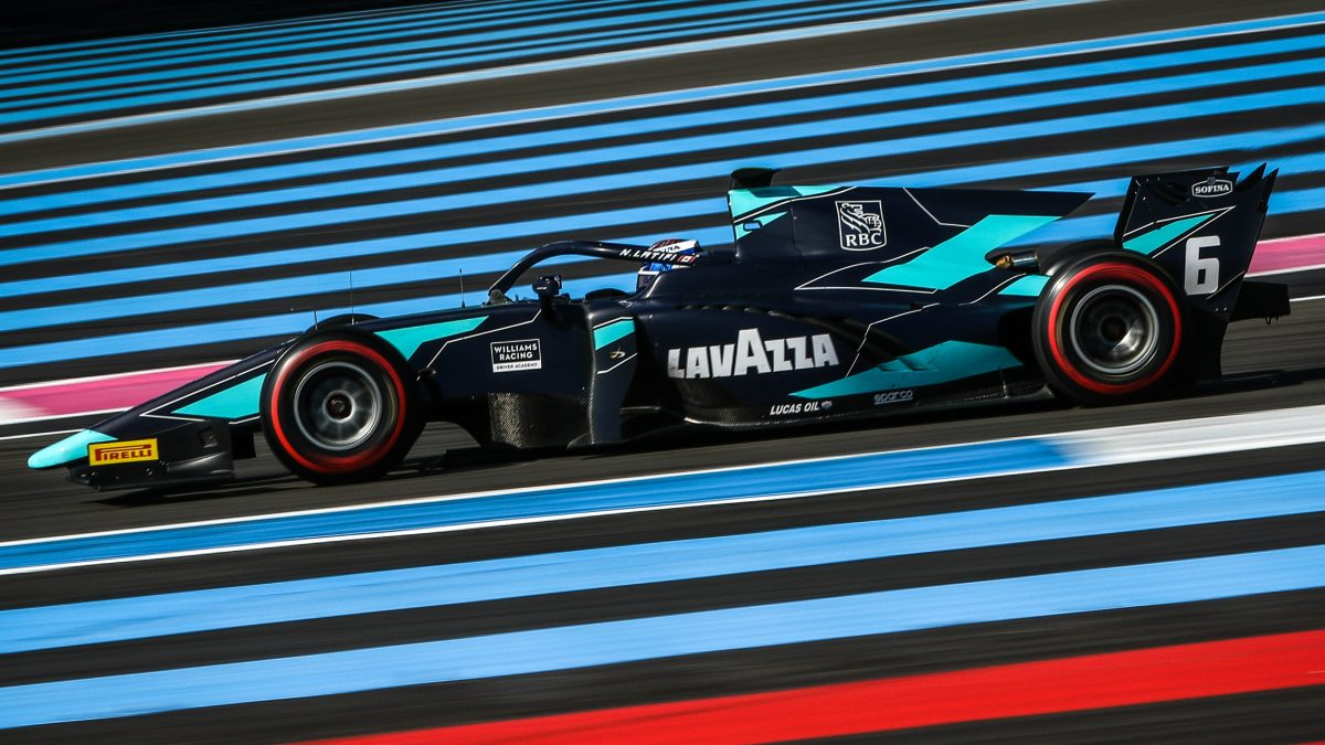 Nicholas takes valuable points from French F2 round