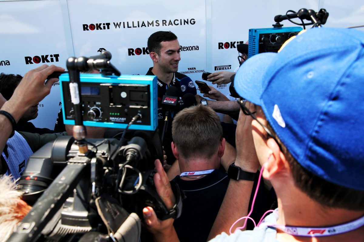 Nicholas enjoys productive FP1 outing on home ground
