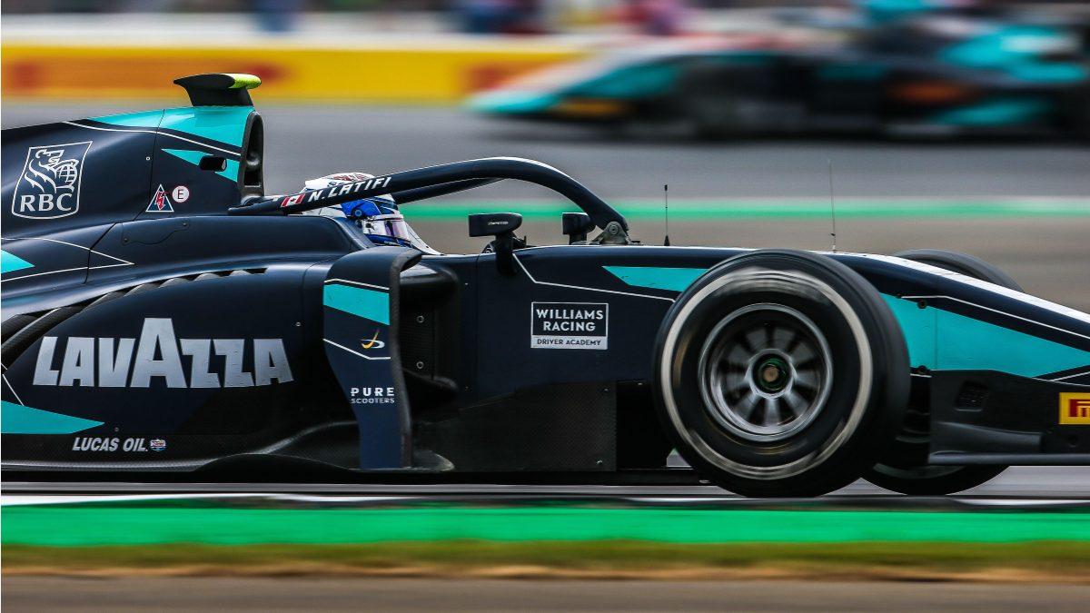 Latifi closes on FIA Formula 2 title lead at Silverstone